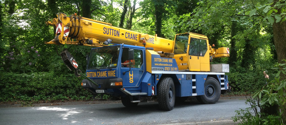Crane Hire & Lifting Equipment Services Manchester - Sutton